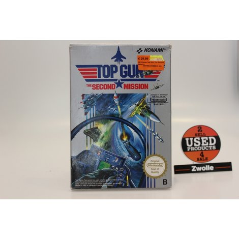NES Game Top Gun The Second Mission