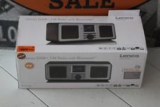 Lenco DAR-015BK Stereo DAB+/FM Radio/Bluetooth | Nieuw + Bon