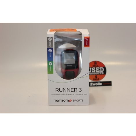 TomTom Runner 3 GPS Watch | Nieuw