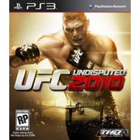 Playstation 3 Game UFC Undisputed 2010