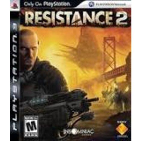 Playstation 3 Game Resistance 2 Platinum