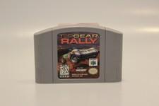 Topgear Rally Nintendo 64 Game