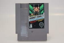 Nintendo NES GAME DONKEY KONG 3