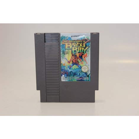 Nintendo NES GAME KONAMI The Adventures of BAYOU BILLY
