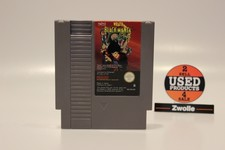 Nintendo NES GAME WRATH OF THE BLACK MANTA