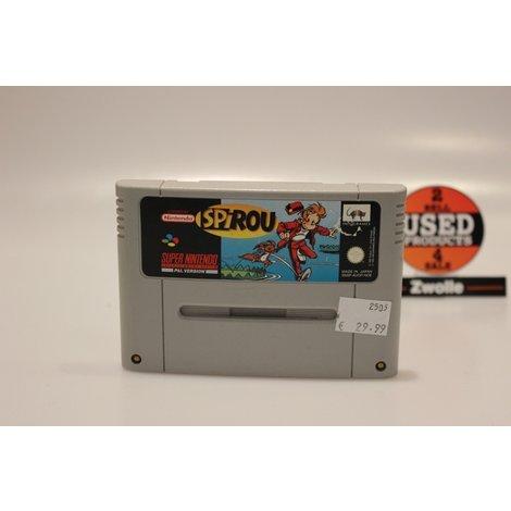 Super Nintendo Game Spirou