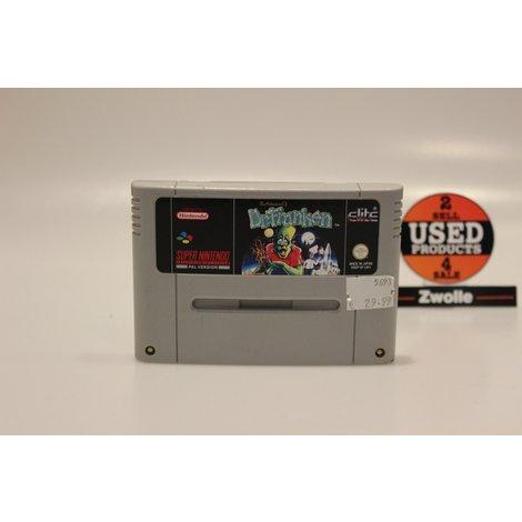 Super Nintendo Game Dr. Franken