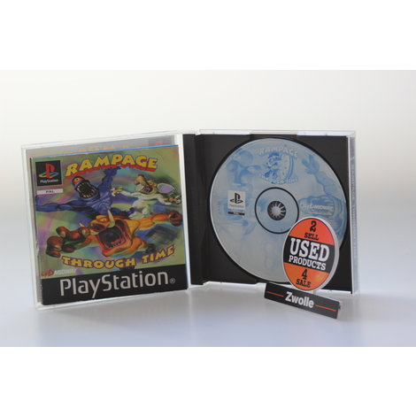 PLAYSTATION GAME RAMPAGE