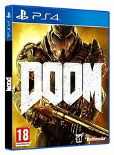Playstation 4 game DOOM