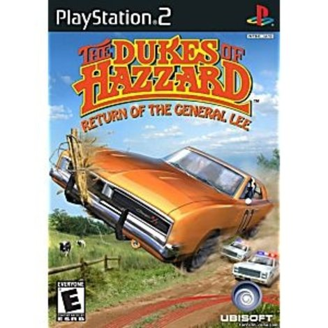 The Dukes of Hazzard Return of the General Lee Playstation 2 game