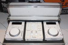 Pioneer CDM350 en 2 x CDJ350 DJ set in flight case