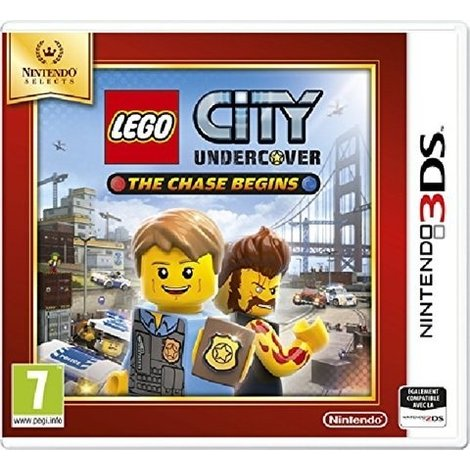 3DS game Lego City undercover