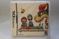 nintendo DS game Mario & Luigi Bowser's Inside Story