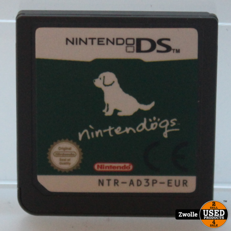 Nintendo DS game Nintendogs