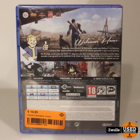 Playstation 4 Fallout 4