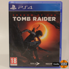 Playstation 4 game shadow of the tomb raider