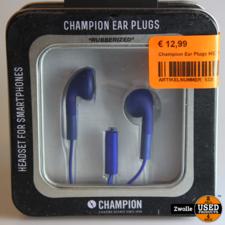 Champion Ear Plugs HSZ100 Blauw