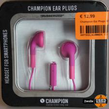 Champion Ear Plugs HSZ100 Roze