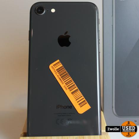 iPhone 8 zwart 64GB   apple care tot 20-01-2021   zgan