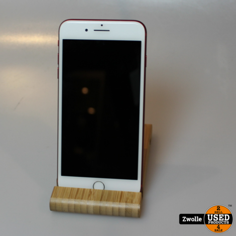 iPhone 7 plus | red edition | 128GB | nieuwe accu