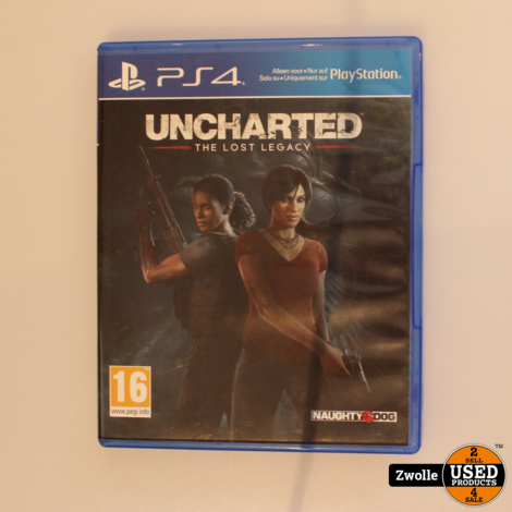 PS4 spel uncharted the lost lagacy