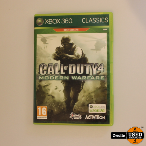 Call Of Duty 4 | Modern Warfare | Xbox 360 Game