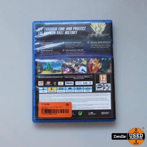 playstation 4 game Dragon Ball 2 Xenoverse