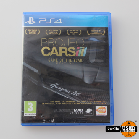 Project Cars PS4 Game