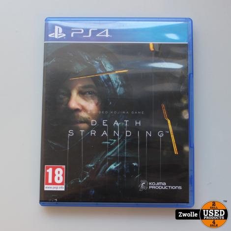 PS4 spel death stranding