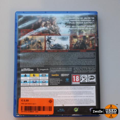 PS4 spel black ops 3