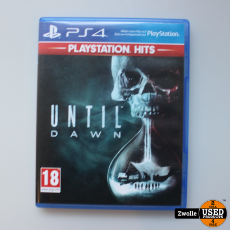 PS4 spel Until dawn