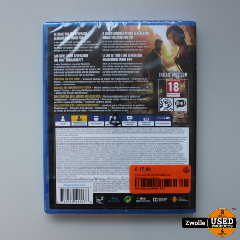 The Last Of Us Remastered | Playstation 4 Game