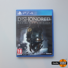 ps 4 game dishonored defenitive edition