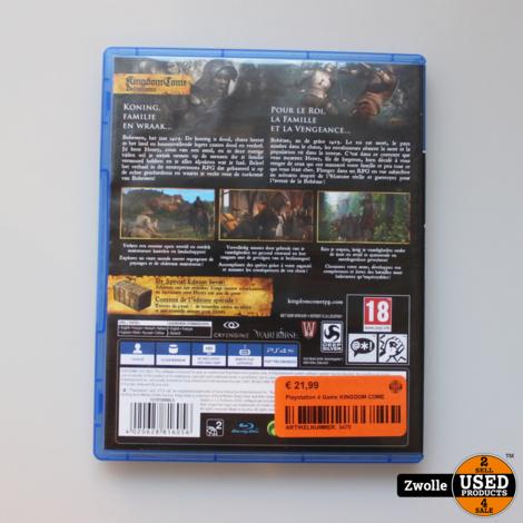 Playstation 4 Game KINGDOM COME