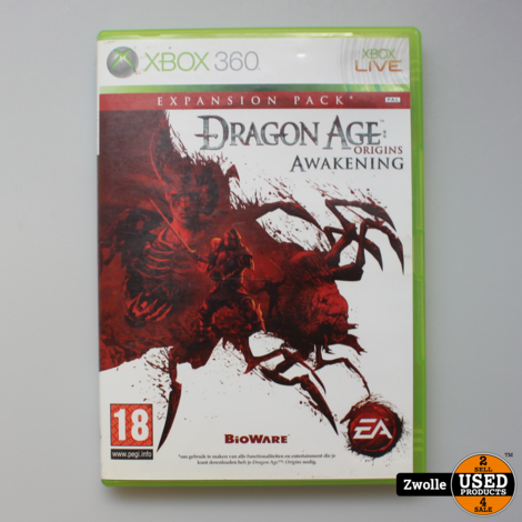 Dragon Age Origins Awakening | Xbox 360 Game
