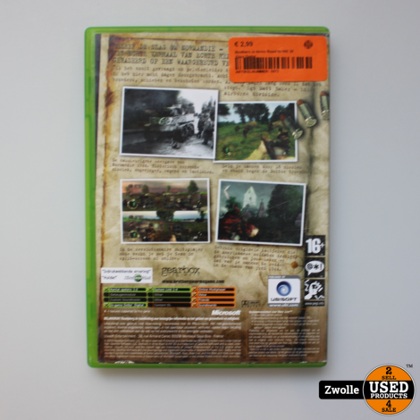 Brothers in Arms Road to Hill 30 Xbox Game