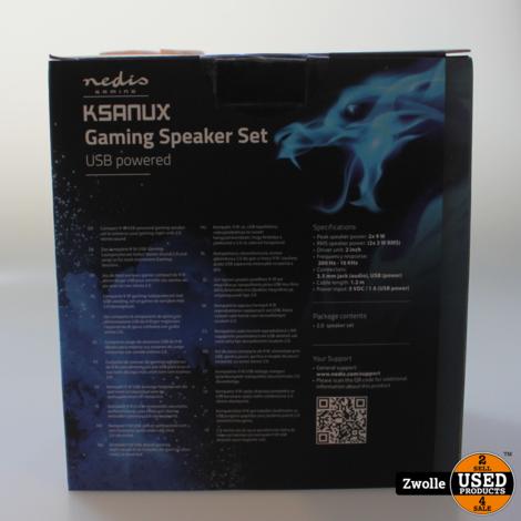 Nedis Gaming Ksanux Gaming Speaker Set