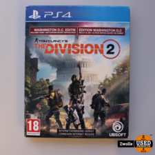 PS4 spel the division  2
