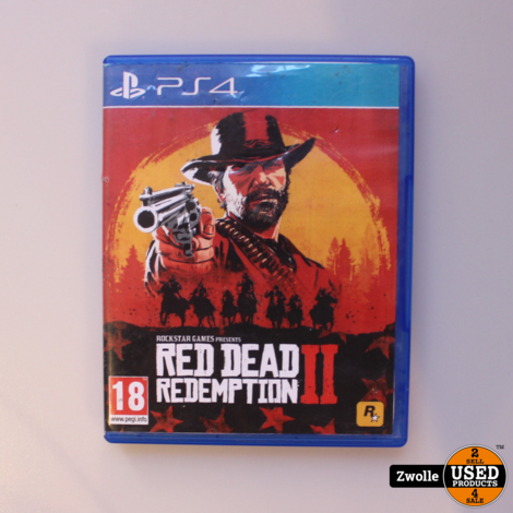 Red Dead Redemption 2 PS4 Game