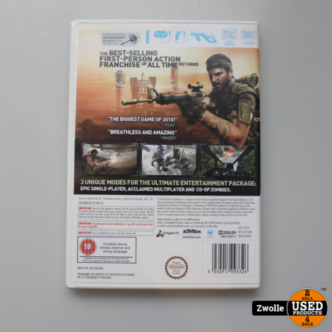 Wii Game Call of Duty