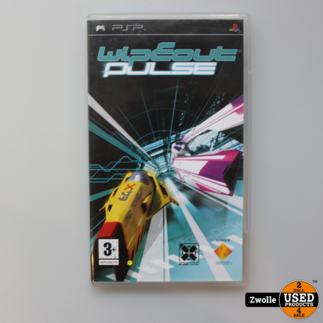 Wipeout Pulse PSP Game