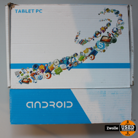 Android tablet PC blauw
