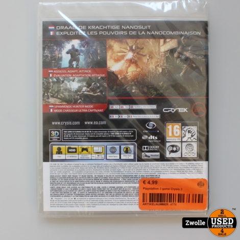 Playstation 3 game Crysis 3