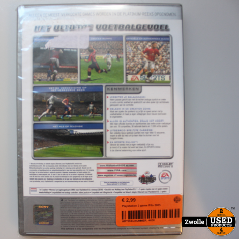 Playstation 2 game Fifa 2005
