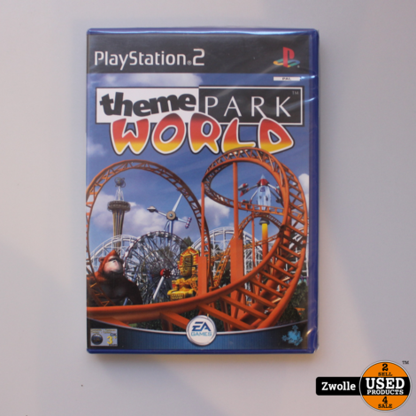 Playstation 2 game Theama park world