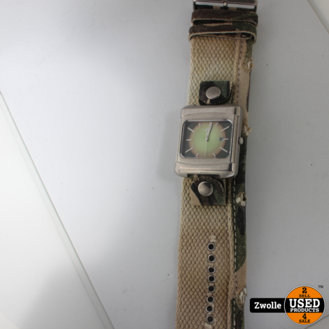 Fossil horloge JR-9231 met Canvas band