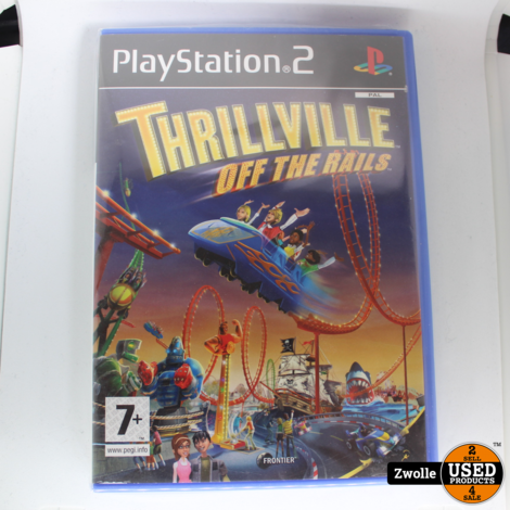 Thrillville of the rails Playstation 2 game