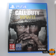 Playstation 4 game call of duty WWII