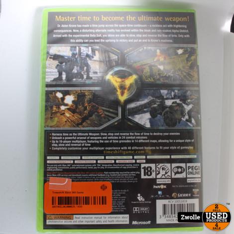 Timeshift Xbox 360 Game