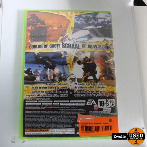 XBOX 360 Game Battlefield 2 modern Combat